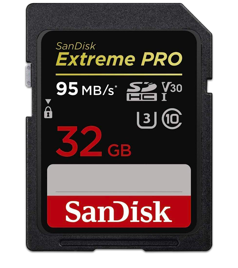 SanDisk Extreme PRO SD Cards