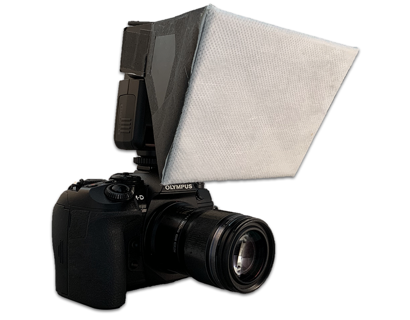 Homemade Softbox Diffuser